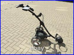Motocaddy s1 electric golf trolley, lithium battery and charger. Extras