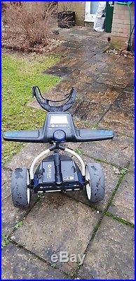 Motocaddy s3 pro Lithium 18 hole powered golf trolley