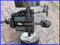 Motocaddy s7 electric golf trolly. All Terrain Wheels & Lithium Battery
