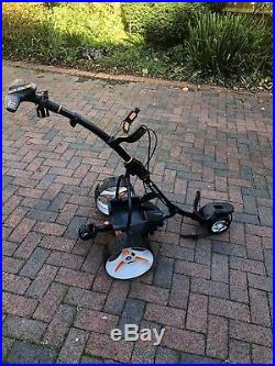 Motocaddy s7 remote electric golf trolley & Lithium Battery