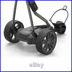 NEW 2018 Powakaddy FW7s EBS Electric Trolley Gunmetal Battery Options
