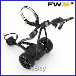 NEW! 2019 PowaKaddy FW3s Electric Trolley Black 2019 18 Hole Lithium
