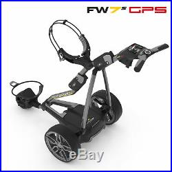 NEW! 2019 PowaKaddy FW7s GPS Electric Golf Trolley Extended Lithium +FREE GIFT