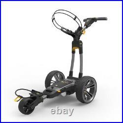 NEW FOR 2020! Powakaddy CT6 GPS Gun Metal Lithium Electric Trolley