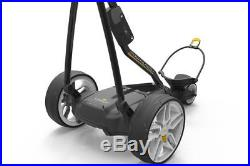 New 2018 Powakaddy FW3s Black Electric Golf Trolley & 36 Hole Lithium Battery