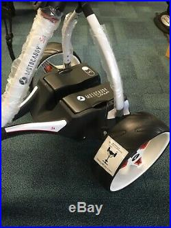 New Motocaddy S1 Lithium Electric Golf Trolley White / Black