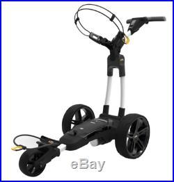 New Powakaddy FX3 Electric Golf Trolley 18 Hole Lithium White + FREE Gift