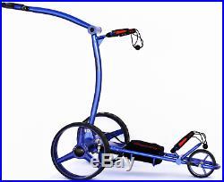 Offmetrolley ZXL Lithium Battery Golf Trolley Blue