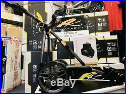 POWAKADDY 2018 C2i LITHIUM EX DEMO ELECTRIC GOLF TROLLEY FREE TRAVEL BAG INCLUD