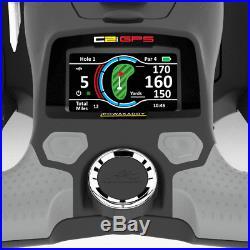 POWAKADDY 2019 C2i GPS GOLF TROLLEY +36 HOLE LITHIUM BATTERY +FREE TRAVEL BAG