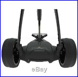 POWAKADDY 2019 STEALTH EDITION FW3s LITHIUM ELECTRIC GOLF TROLLEY 24 HR DELIVERY