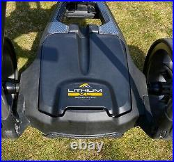 POWAKADDY C2i Compact Electric Golf Trolley, 36-Hole Extended Lithium Battery