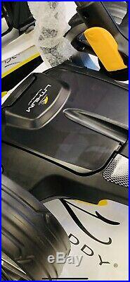POWAKADDY C2i EX DEMO ELECTRIC GOLF TROLLEY LITHIUM WITH BAG 24 HOUR DELIVERY
