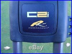 POWAKADDY EX DEMO C2i ELECTRIC TROLLEY 18 HOLE LITHIUM BATTERY