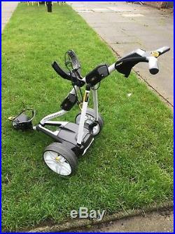 POWAKADDY FW3s ELECTRIC GOLF TROLLEY 18 HOLE LITHIUM BATTERYReconditioned