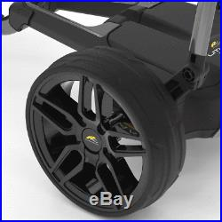 POWAKADDY FW5s EBS GOLF TROLLEY +36 HOLE LITHIUM BATTERY +FREE £100 GIFT PACK