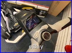 POWAKADDY FW5s GPS ELECTRIC GOLF TROLLEY- POLAR WHITE LITHIUM 24 HOUR DELIVERY