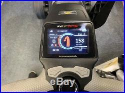 POWAKADDY FW7s 2019 GPS LITHIUM ELECTRIC GOLF TROLLEY COLOUR SCREEN EDITION