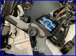 POWAKADDY FW7s EBS 36 HOLE EX DEMO LITHIUM ELECTRIC GOLF TROLLEY 24 HR DELIVER