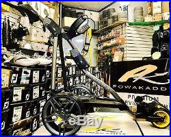 POWAKADDY FW7s ELECTRIC GOLF TROLLEY 18 HOLE LITHIUM FREE ACCESSORY 24HR DELIVER