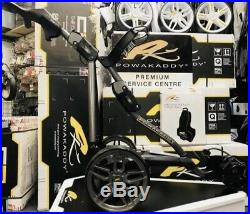 POWAKADDY FW7s ELECTRIC GOLF TROLLEY LITHIUM FREE TRAVEL BAG 24HR DELIVERY