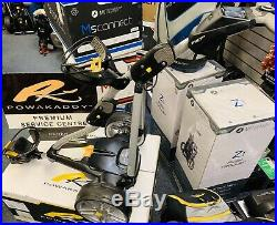 POWAKADDY FW7s ELECTRIC GOLF TROLLEY LITHIUM HIGH SPEC TROLLEY 24 HOUR DELIVERY