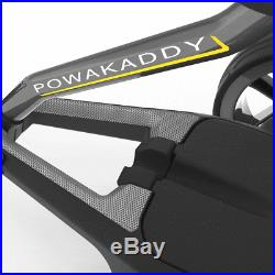 POWAKADDY FW7s GOLF TROLLEY +18 HOLE LITHIUM BATTERY +FREE £100 GIFT PACK