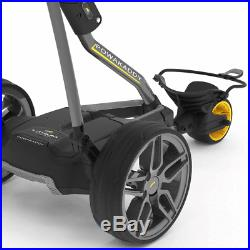 POWAKADDY FW7s GOLF TROLLEY +36 HOLE LITHIUM BATTERY +FREE £100 GIFT PACK