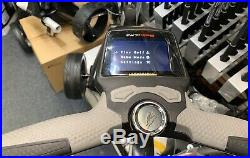 POWAKADDY FW7s GPS LITHIUM ELECTRIC GOLF TROLLEY SUPERB COND 24 HOUR DELIVERY