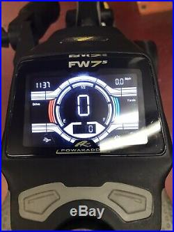POWAKADDY FW7s LITHIUM ELECTRIC GOLF TROLLEY + EXTENDED BATTERY