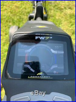 POWAKADDY FW7s LITHIUM ELECTRIC GOLF TROLLEY VERY GOOD CONDITION