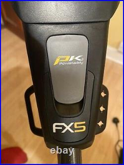 POWAKADDY FX5 ELECTRIC GOLF TROLLEY With 18 Hole Lithium Battery