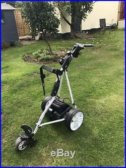 POWAKADDY SPORT ELECTRIC GOLF TROLLEY With 36 Hole Lithium Battery