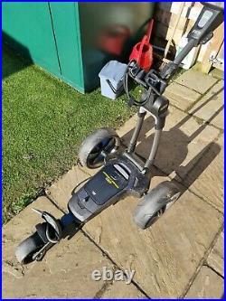 PowaKaddy 2020 FX7 36 Hole Lithium Golf Trolley Black only done 32 miles