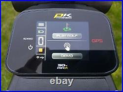 PowaKaddy CT6 GPS 36 Hole Foldable Lithium Electric Golf Trolley Gun Metal