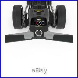 PowaKaddy Compact C2 Limited Edition Electric Trolley Black 18 Hole Lithium