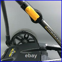 PowaKaddy Compact C2i GPS/EBS Electric Golf Trolley 36 Hole Lithium Battery