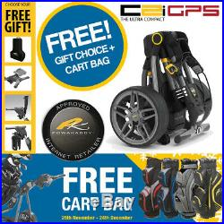 PowaKaddy Compact C2i GPS Extended Lithium Electric Trolley +FREE GIFT