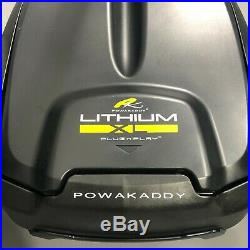 PowaKaddy FW5s GPS Black Electric Golf Trolley Extended 36 Hole Lithium NEW