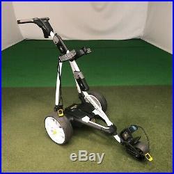 PowaKaddy FW5s GPS Electric Golf Trolley White Extended Lithium (EX-RENTAL)