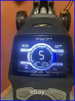 PowaKaddy FW7 Golf Trolley 18 Lithium Battery + Extras. Power Golf Trolley