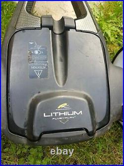 PowaKaddy FW7 Golf Trolley Lithium Battery + Extras. Power Golf Trolley