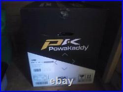 PowaKaddy FX3 18 Hole Lithium Electric Trolley white