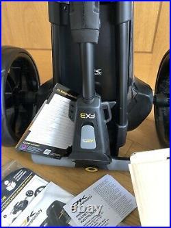 PowaKaddy FX3 Black Electric Golf Trolley 18 Hole Lithium 2021 BRAND NEW
