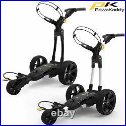 PowaKaddy FX3 Electric Golf Trolley 18 or 36 Hole Lithium Battery / NEW 2020