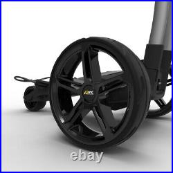 PowaKaddy FX5 Gun Metal Electric Golf Trolley 18 Hole Lithium Battery / NEW 2021