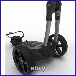 PowaKaddy FX5 Gun Metal Electric Golf Trolley 2020 Extended Lithium