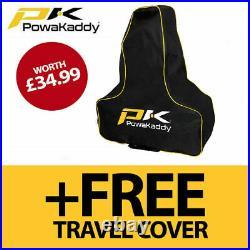 PowaKaddy FX7 EBS Electric Golf Trolley 36 Hole Lithium NEW! 2021 +FREE BAG