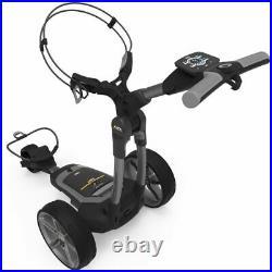 PowaKaddy FX7 EBS Gun Metal Electric Golf Trolley 18 Lithium 2020 +FREE BAG