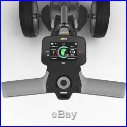 PowaKaddy FX7 GPS/EBS Gun Metal Electric Golf Trolley 36 Lithium 2020 +FREE BAG